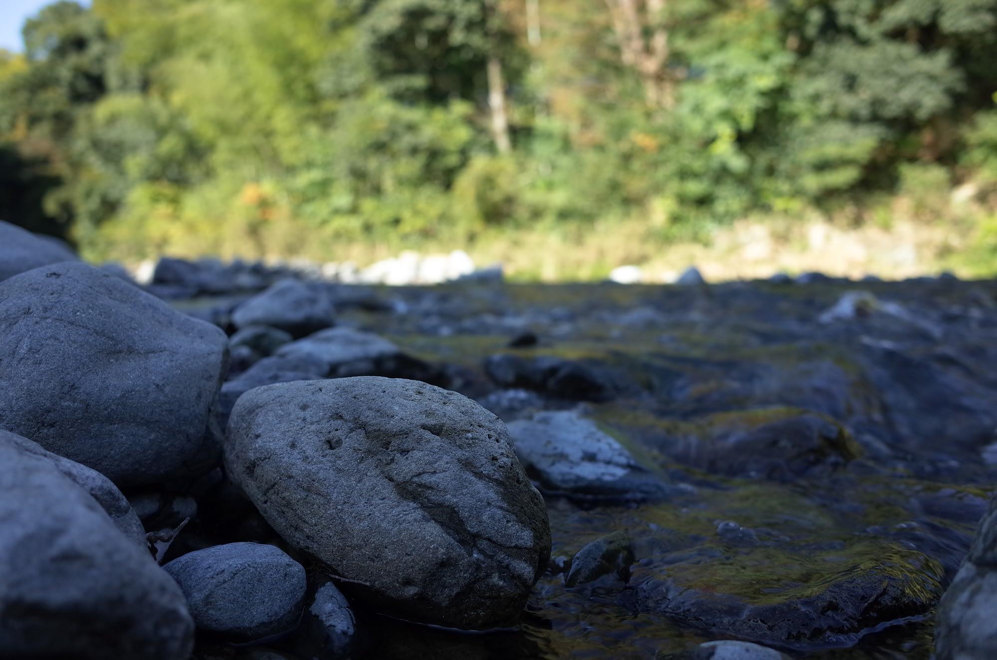 会場直結の川でひたすら水切りやりすぎたので、明日は筋肉痛だー。